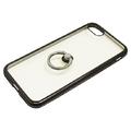 iPhone8/7用ジャケット リング付き ラインストーン